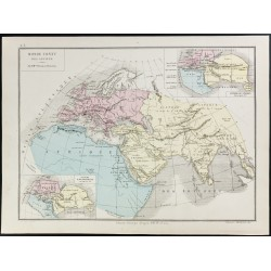 1872 - Monde connu des anciens