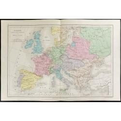 1872 - Europe sous Louis XIV