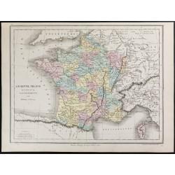 1872 - France divisée en 32...