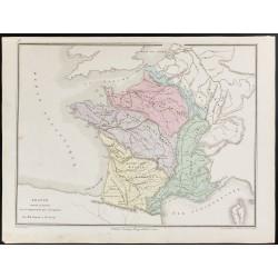 1872 - France géologique