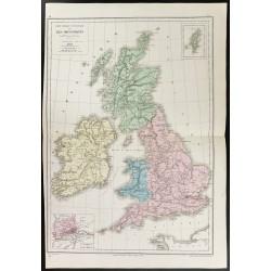 1872 - Carte des Iles...
