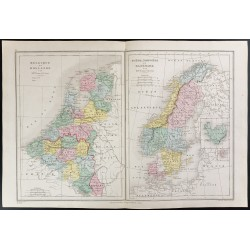 1872 - Benelux et Scandinavie