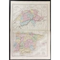 1872 - Suisse, Espagne et...