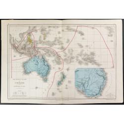 1872 - Carte de l'Océanie
