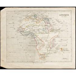 1840ca - Carte de l'Afrique
