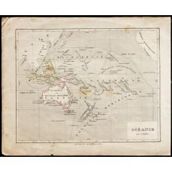 1840ca - Carte de l'Océanie