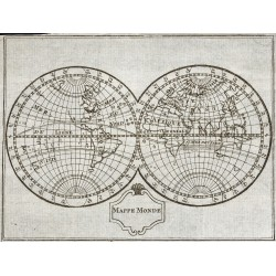 1773 - MappeMonde - Carte...
