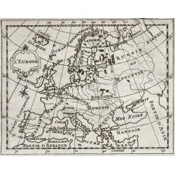 1773 - Carte de l'Europe