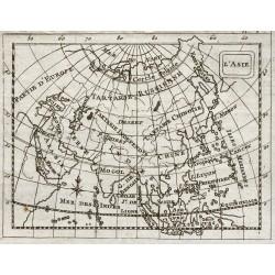 1773 - Carte de l'Asie