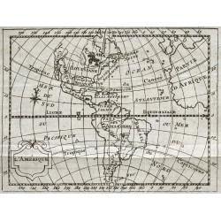 1773 - Carte de l'Amérique