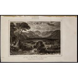 1842 - Le lac de Dervent