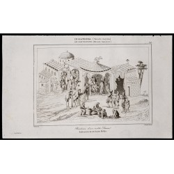 1842 - Résidence d'un noble...