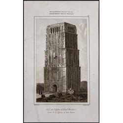 1842 - Tour de l'église...