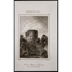 1842 - Tour du château de...