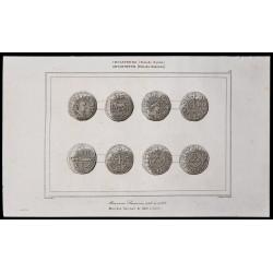 1842 - Monnaies Saxonnes
