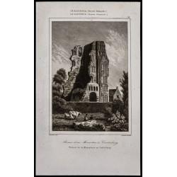 1842 - Ruines d'un...