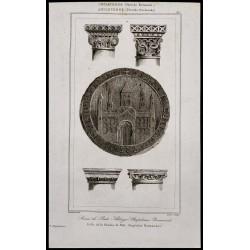 1842 - Sceau de Balt Abbaye
