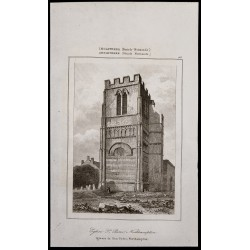 1842 - Clocher de l'Église...