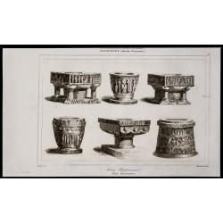 1842 - Fonts baptismaux