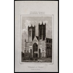 1842 - Cathédrale de Lincoln