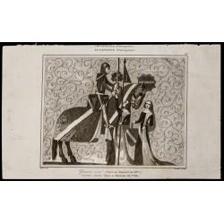 1842 - Guerrier armé