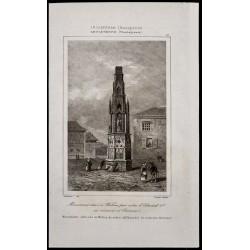 1842 - Monument à Wolton -...