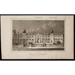 1842 - Écuries du roi à...