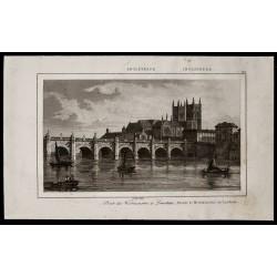 1842 - Pont de Westminster...