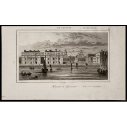 1842 - Hôpital de Greenwich