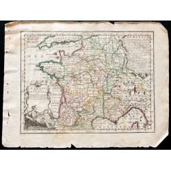 1719 - Carte de France