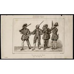1842 - Costumes du XVIe siècle