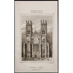 1842 - Cathédrale d'York