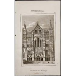 1842 - Cathédrale de Salisbury