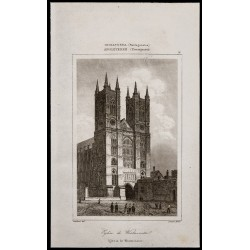 1842 - Église de Westminster