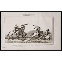 1842 - Tournoi au XIVe siècle