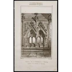 1842 - Tombeau - Cathédrale...