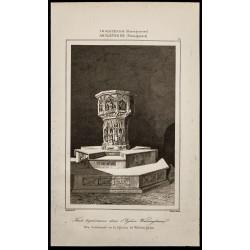 1842 - Fonts baptismaux -...