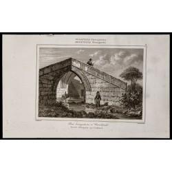 1842 - Pont triangulaire à...