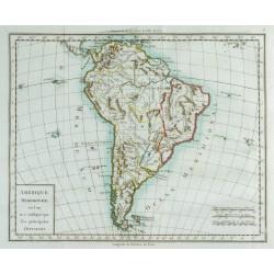 1785 - Carte de l'Amérique...