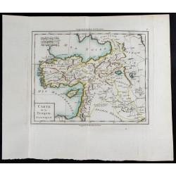 1785 - Carte de la Turquie...