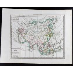1785 - Carte de l'Asie
