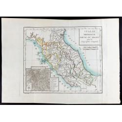 1785 - Carte de l'Italie du...