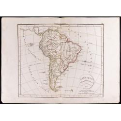 1830 - Carte de Amérique...