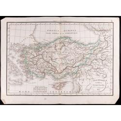 1830 - Carte de l'Asie mineure