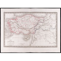 1841 - Carte de l'Asie mineure