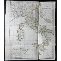 1803 - Italie carte...
