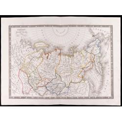 1841 - Carte de la Sibérie...