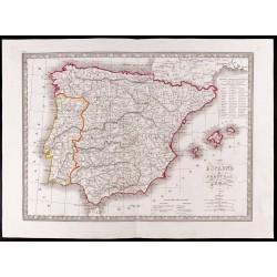 1841 - Espagne et Portugal...