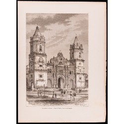 1880 - Cathédrale de Panama