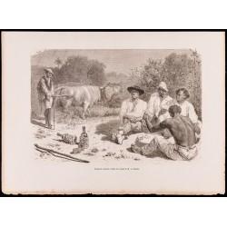 1880 - :Groupe de Vaqueros